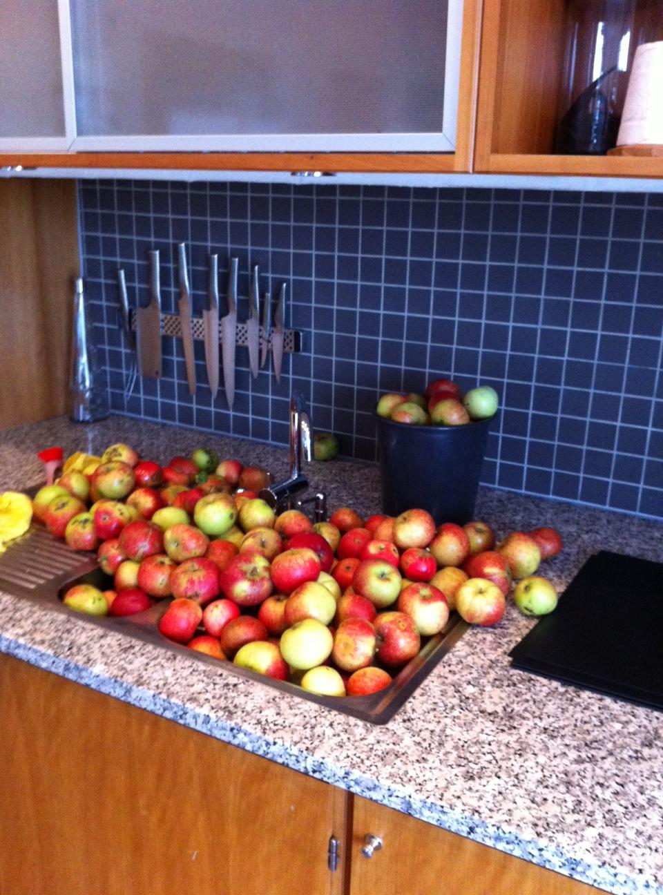 Søde, kæmpe mandehunk! Vi skal lige have skrællet lidt æbler :-)   jeeeeeez, jeg døøøøøøøøøøøør!