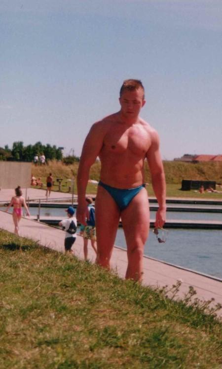 Gamle sure mand anno ca. 1990, ca 93kg