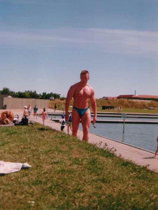 Gamle sure mand anno ca. 1990 og +13-14 kg...