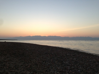 Lige før solen kommer frem klokken 05-et-eller-andet