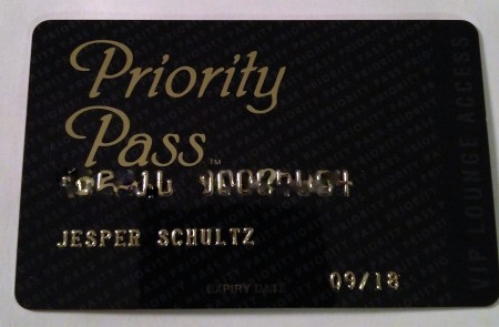 Multipass! Kom sammen med det nye kreditkort og giver VIP-lounge i alverdens lufthavne - nice!