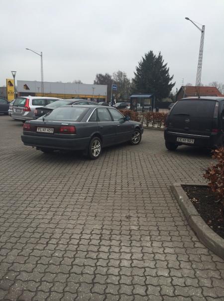 Møgparkering!