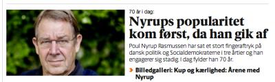 'Nyrops popularitet' - hvor?