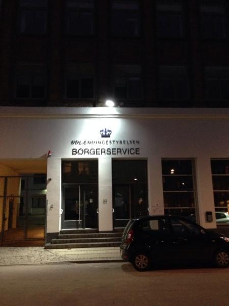 'Borgerservice' (newspeak, tidligere 'Udlændingestyrelsen')