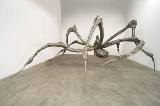Louise Burgeois: Mother Spider.  WTF?