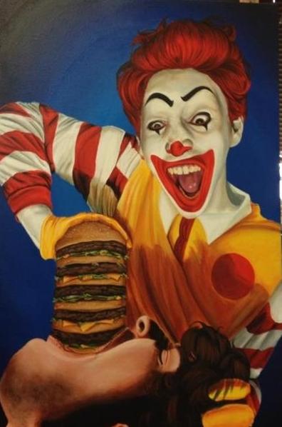 Ronald McD fra helvede?